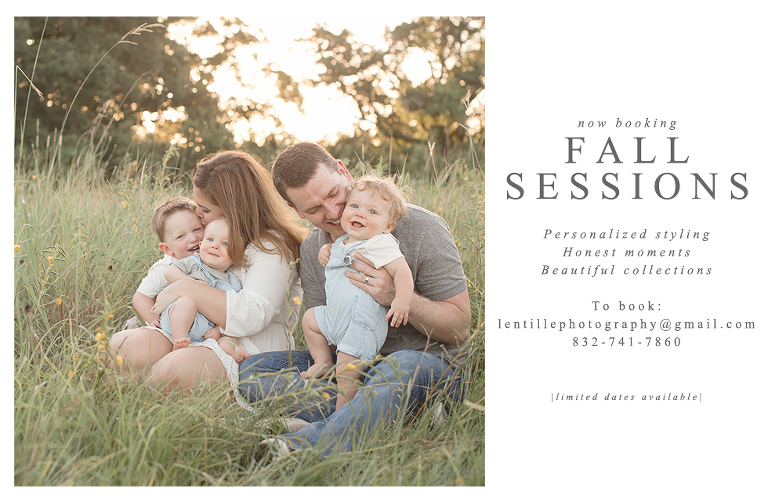 Houston Family Photographer | Fall Sessions