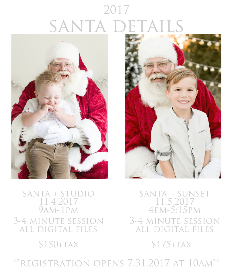 Houston Santa Session Details | Studio and Field