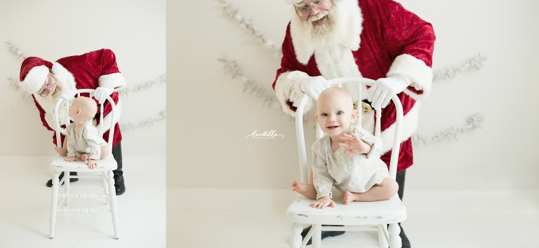 Houston Santa Sessions in Studio | Lentille Photography