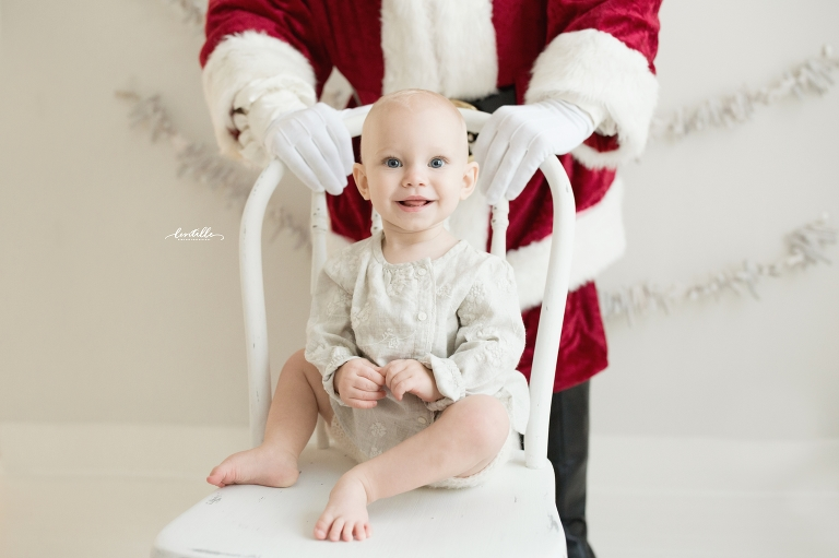 Studio Santa sessions in Houston | Lentille Photography