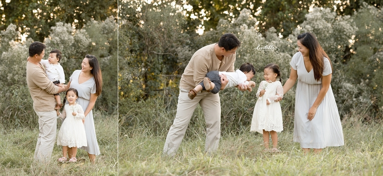 A father plays | Lentille Photography | Houston Family Photographer