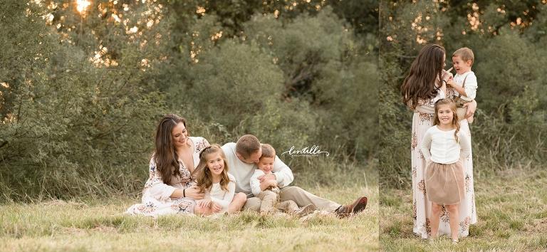 A family hugs  | Lentille Photography | Houston Family Photographer