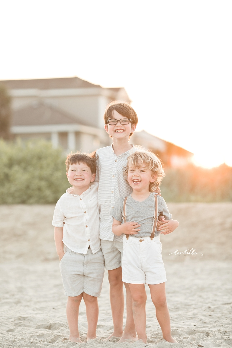 Family Beach Photography  | Lentille Photography