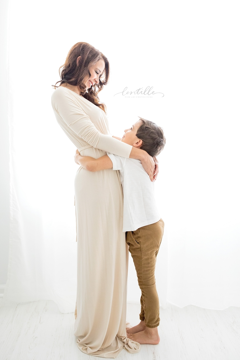 Mother and Son Photos | Lentlle Photography