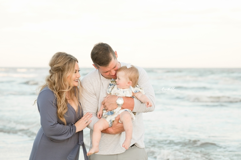 Family Beach Pictures | Lentille Photography