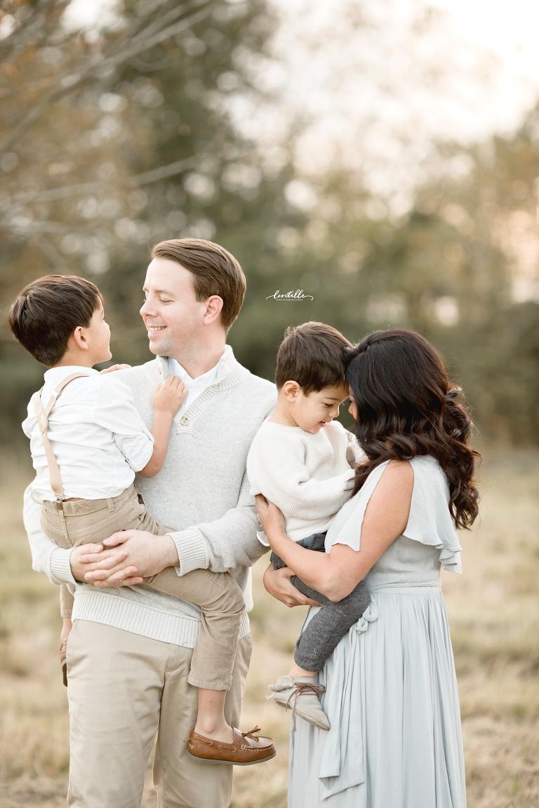 Houston family of four photo