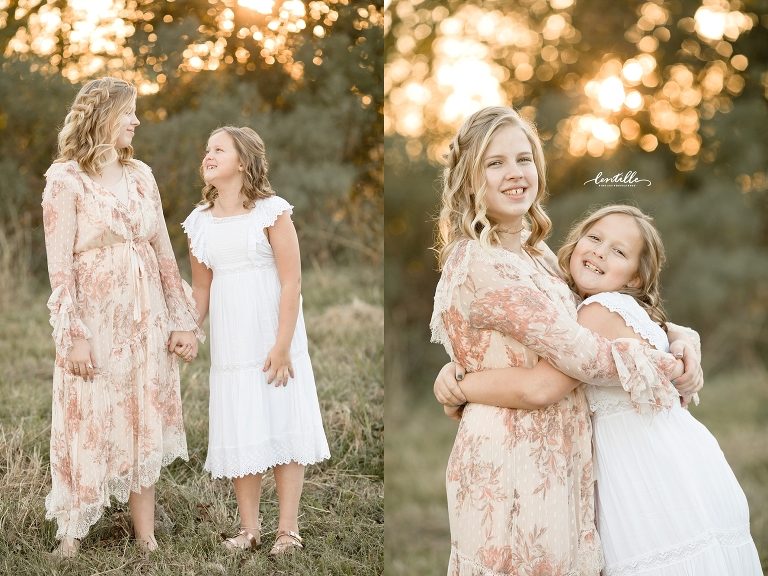 Houston outdoor siblings session