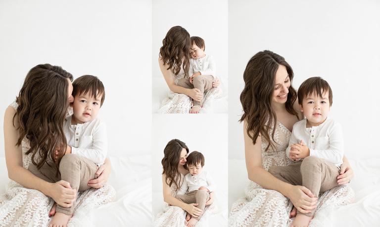 Houston motherhood photo session